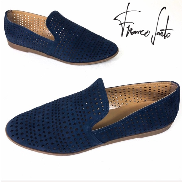 a8e88a058f9 Franco Sarto Shoes - Franco Sarto Blue Faryn Loafer Flat 9